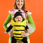 Bumble Bee Baby and Flower Mother Costumes