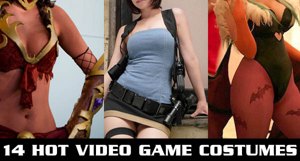 14 Hot Video Game Character Costumes