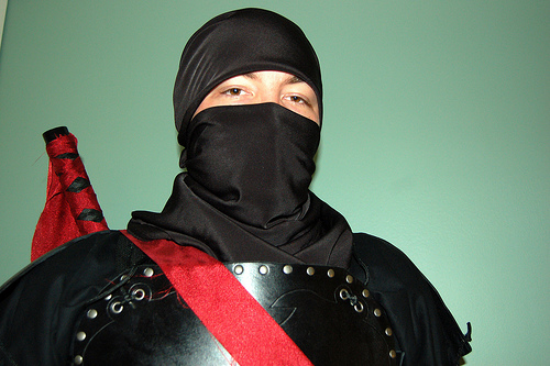 how-to-make-ninja-costume