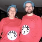 Dr Seuss Thing 1 and Thing 2 Costumes