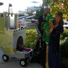Medieval Castle Wagon Family Group Costumes