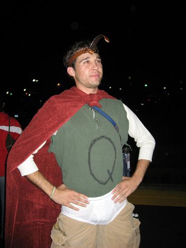 Quailman-Costume