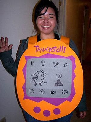 Tamagotchi-Costume