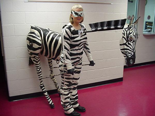 Zebra-Costume