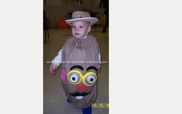 Mr Potato Head Costume Costume Pop
