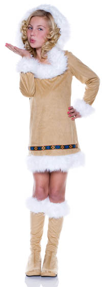 Eskimo Girl Child Costumes