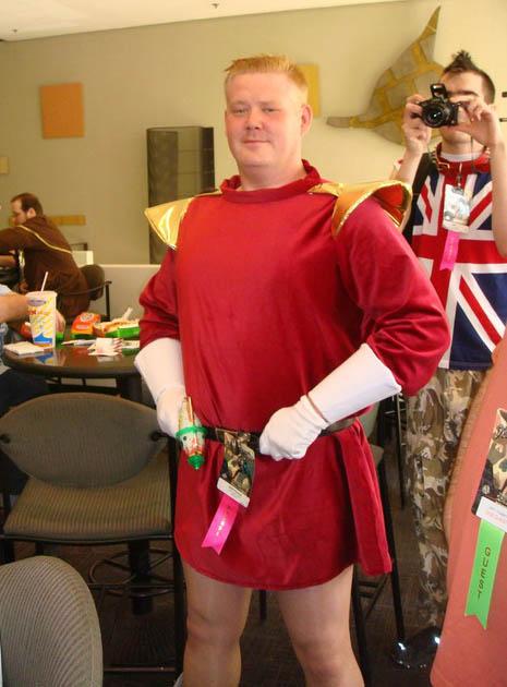Futurama Zapp Brannigan Costume