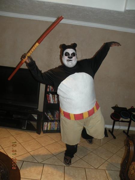 Daddy Kung Fu Panda Costume Costume Pop