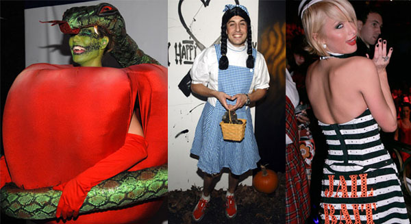 The best and worst celebrity Halloween costumes