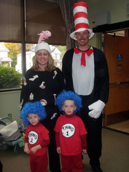 Cat In The Hat Family Costumes