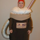 A&W Rootbeer Float Costumes