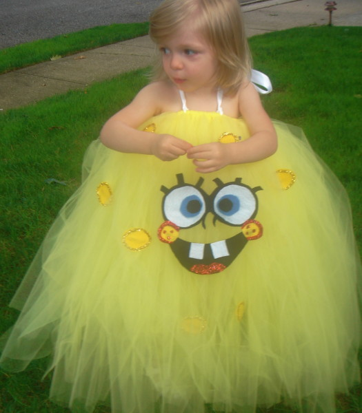 Who lives in a pineapple under the sea? My little girl wanted to be Spongebob Squarepants but I really wanted her to be something girly and cute.  sc 1 st  Costume Pop & Spooktacular Spongebob Costumes | Costume Pop