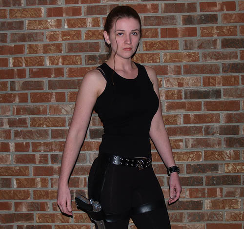 Homemade Lara Croft Costume Costume Pop