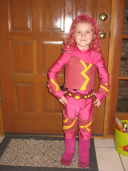This Lava Girl Costume Is Unique And Fun For Your Little One Check Out What This Little Girls Mom Had To Say About It