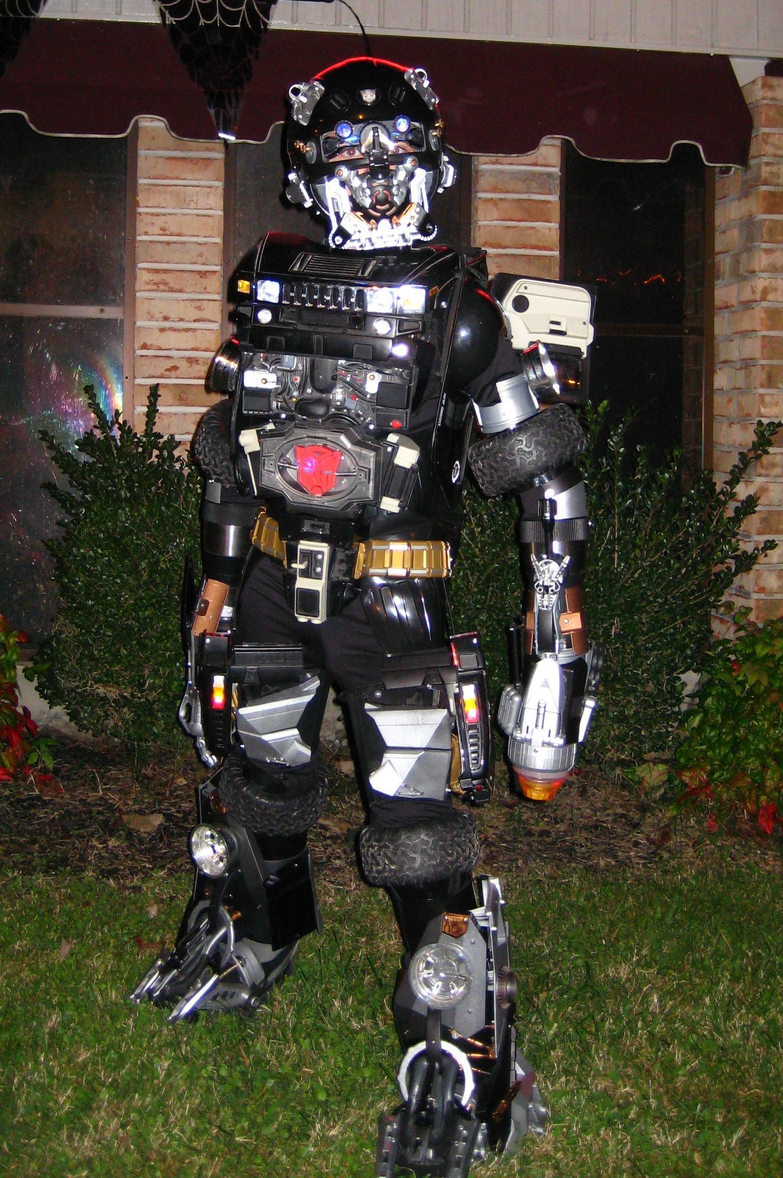 H2 Transformer Costume