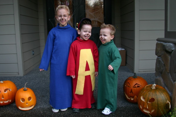 Alvin And The Chipmunks Halloween Costumes Costume Pop