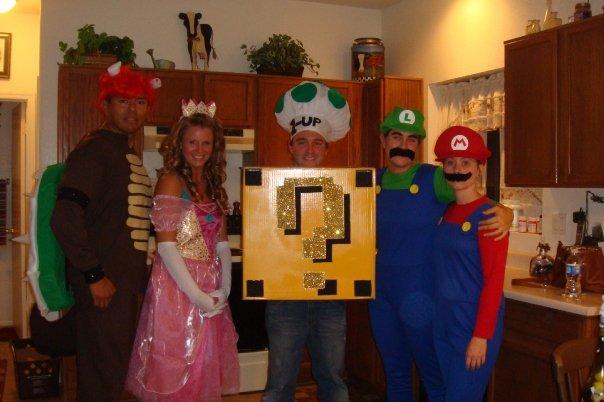 Mario Party 2009 Costumes