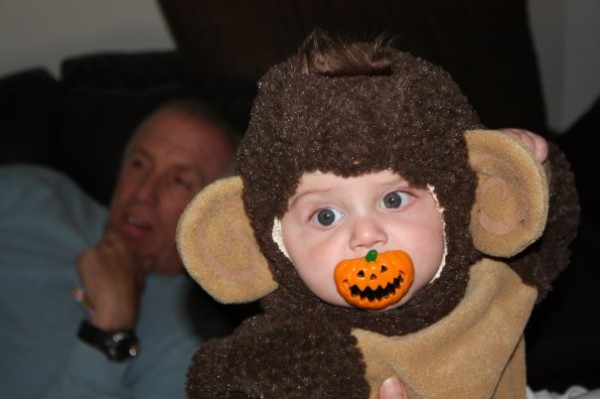Curious George And His Pumpkin Pacifier Costumes Costume Pop