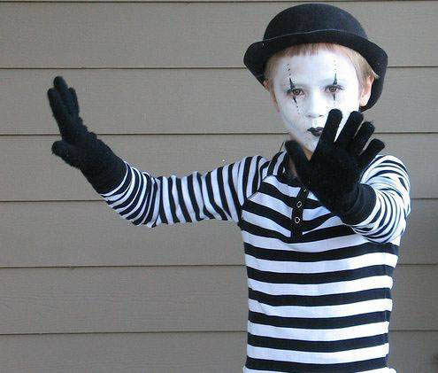 child-mime-costume
