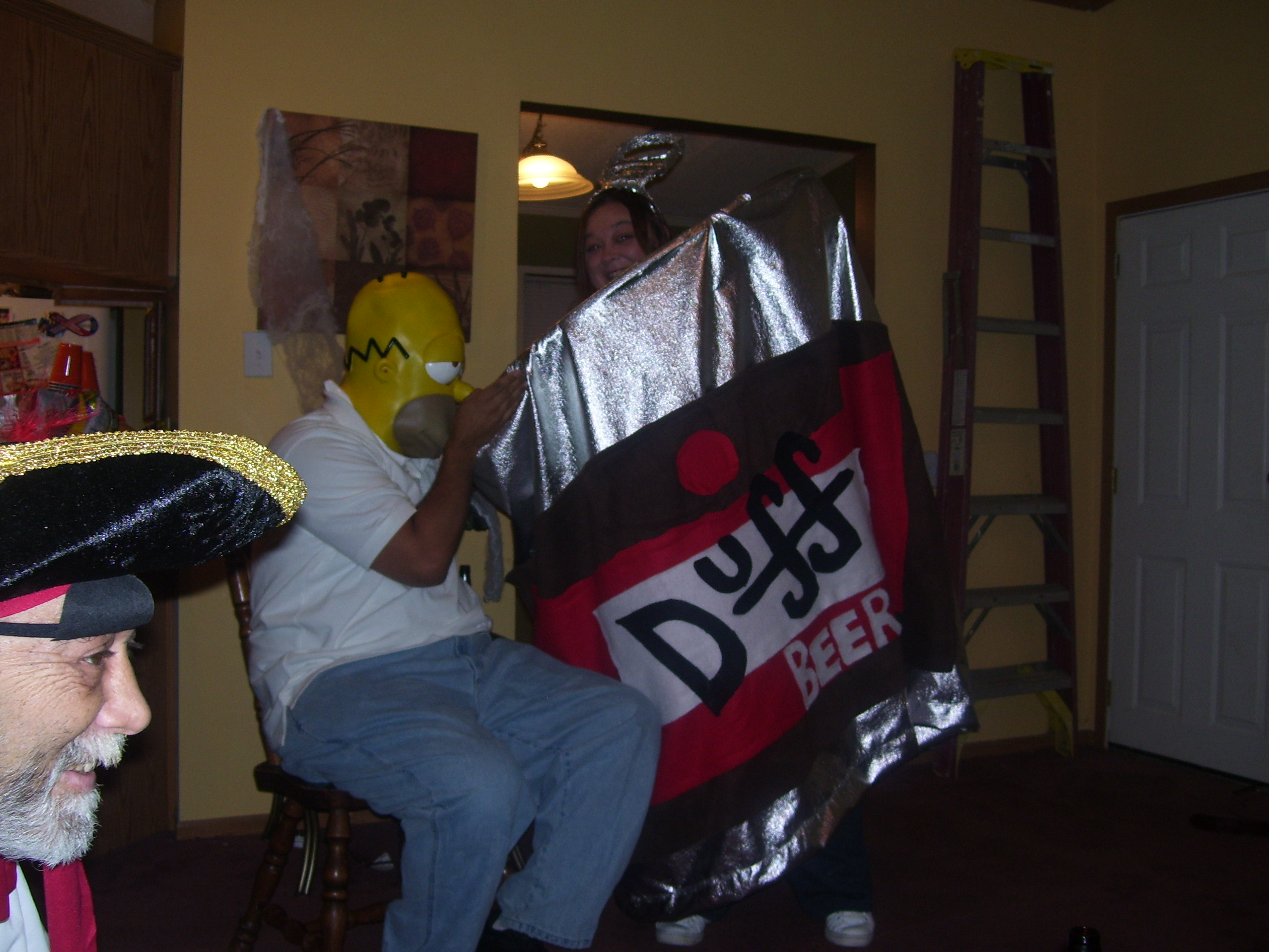Simpsons Duff Beer Can Costume