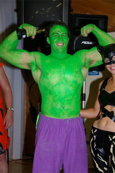 hulk costume for women