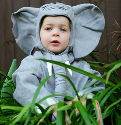 Kid's Elephant Costume