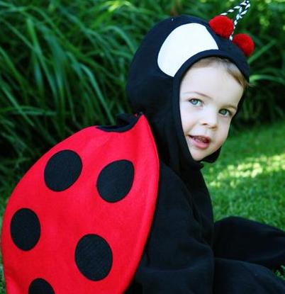 sc 1 st  Costume Pop & LadyBug Kids Costumes | Costume Pop