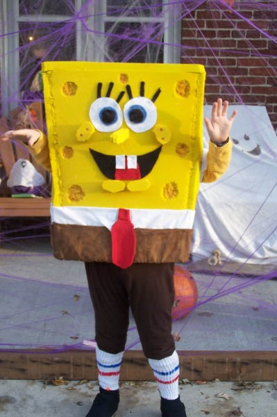 I made this for my 8 year old son out of foam. & Spongebob Squarepants Costumes | Costume Pop