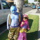 The Genie & Jasmine Costumes