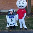 R2D2 & Cincinnati Reds Bobblehead Costumes
