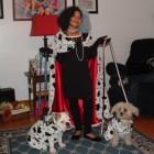 Cruella De Vil and Her Dalmatians Costumes
