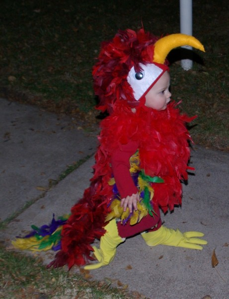 My husband was a pirate for Halloween so it was only fitting that our 1-year-old son was his parrot. I had a lot of fun searching for ideas and tips online ...  sc 1 st  Costume Pop & The Cutest Parrot Costume Ever! Costumes | Costume Pop