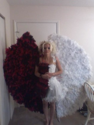 Half Devil Half Angel Costumes