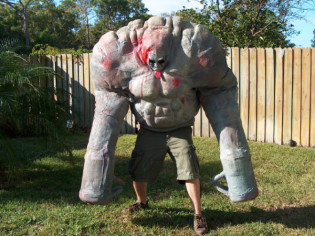 Tank Costume From Left 4 Dead Costumes