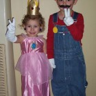 Mario and Princess Peach Costumes