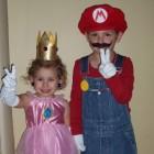 mario and princess peach costumes - costumepop