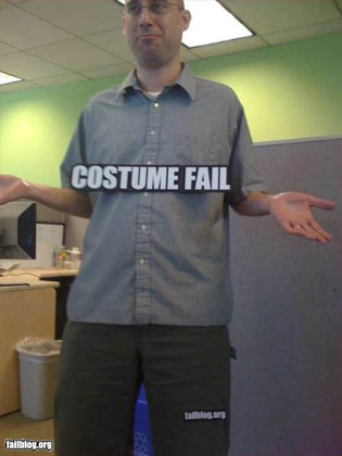 There's No Such Thing as Costume Fail Costumes
