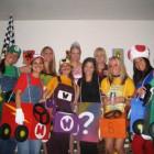 Mario Kart Group Costumes