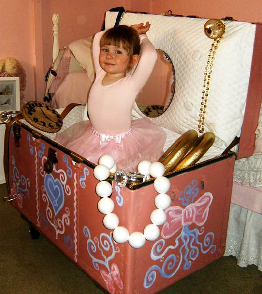 Jewelry Box Ballerina Costume