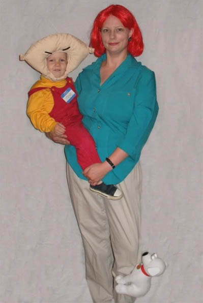 family guy lois stewie costumes