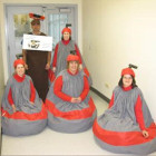 Curling Rocks and Broom Costumes