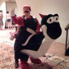 Mario Riding Yoshi Costumes