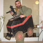 B. A. Baracus and the A-Team Van Costumes