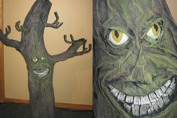 spooky tree costume