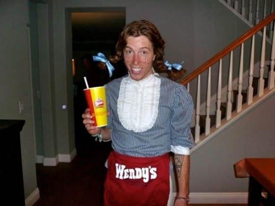wendys costume