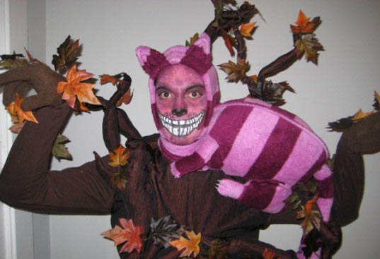 What better character for an illusion costume than the Cheshire cat? This Alice in Wonderland ...  sc 1 st  Costume Pop & Cheshire Cat in a Tree Costumes | Costume Pop