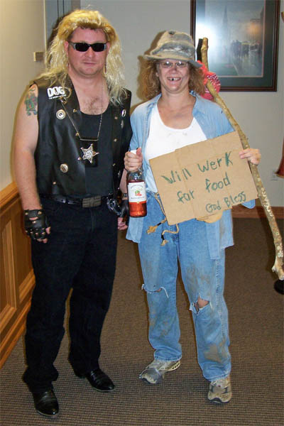 dog the bounty hunter and hobo costumes costume pop