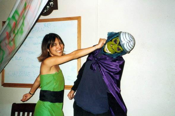 Buttercup and Mojo Jojo Powerpuff Girls CostumesPowerpuff Girls Buttercup Costume