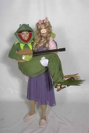 Miss Piggy Halloween Costume | Kermit Miss Piggy Couples Costumes Costume Pop