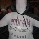 404 Error Costume Not Found Costumes